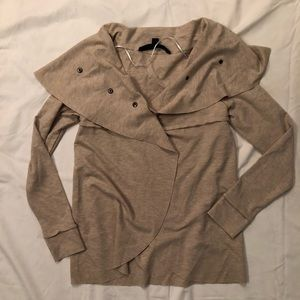 NWOT KENSIE WATERFALL TAN JACKET